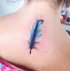 Awesome Feather Tattoo Ideas38