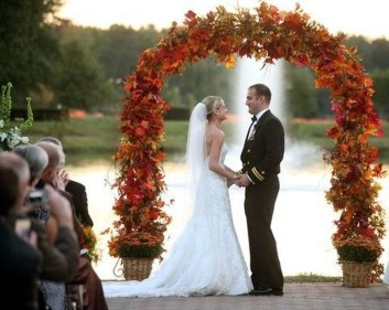 Awesome Outdoor Fall Wedding Tips Ideas08