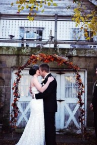 Awesome Outdoor Fall Wedding Tips Ideas11