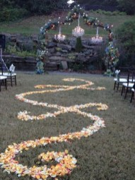 Awesome Outdoor Fall Wedding Tips Ideas37