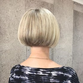 Chic Short Hairstyle To Copy Right Now30