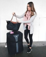 Classic And Casual Airport Outfit Ideas37