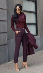 Elegant Fall Outfits Ideas To Inspire You20