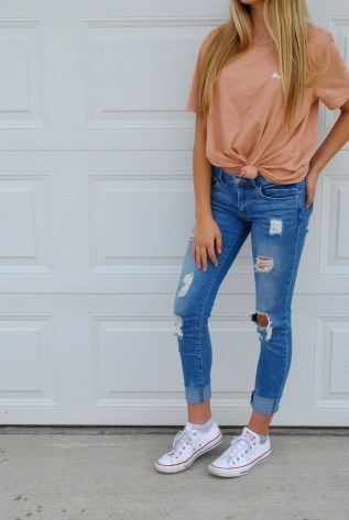Fabulous And Fashionable School Outfit Ideas For College Girls12