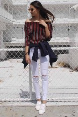 Fabulous And Fashionable School Outfit Ideas For College Girls21