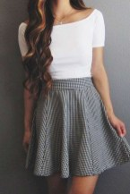 Fabulous And Fashionable School Outfit Ideas For College Girls29