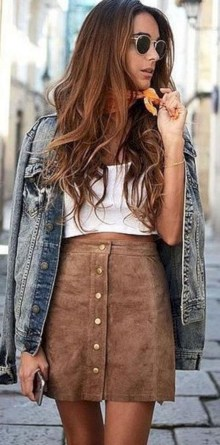 Fabulous And Fashionable School Outfit Ideas For College Girls33