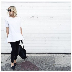 Magnificient Summer Outfit Ideas With Black Flats01