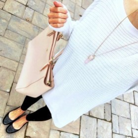 Magnificient Summer Outfit Ideas With Black Flats03