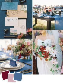 Popular Fall Wedding Color Trends Ideas04