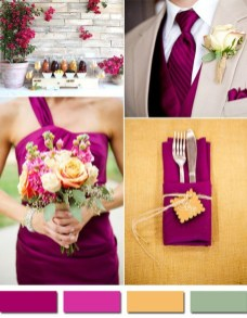 Popular Fall Wedding Color Trends Ideas10