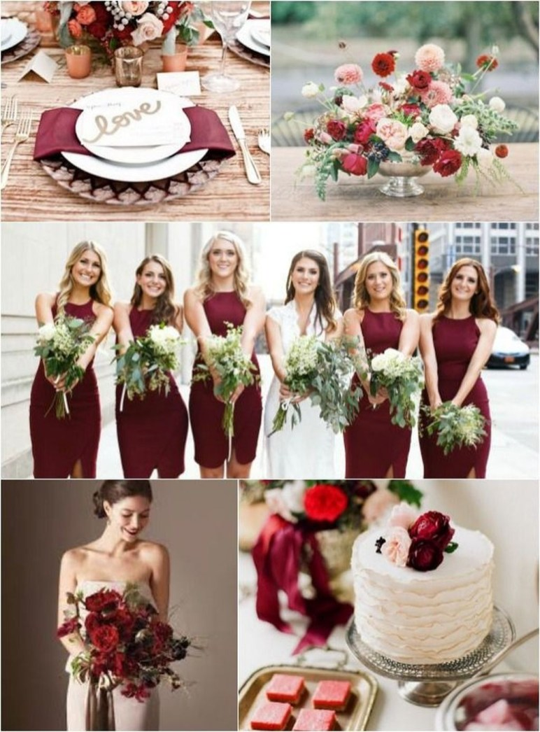 Popular Fall Wedding Color Trends Ideas24