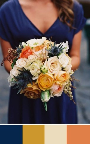Popular Fall Wedding Color Trends Ideas37