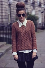 Wonderful Ways Wear Bun Fall Ideas02