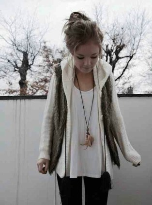 Wonderful Ways Wear Bun Fall Ideas08