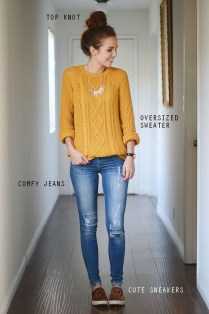 Wonderful Ways Wear Bun Fall Ideas31