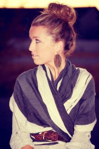 Wonderful Ways Wear Bun Fall Ideas39