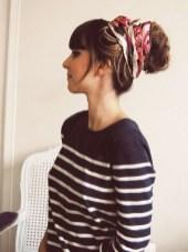 Wonderful Ways Wear Bun Fall Ideas41