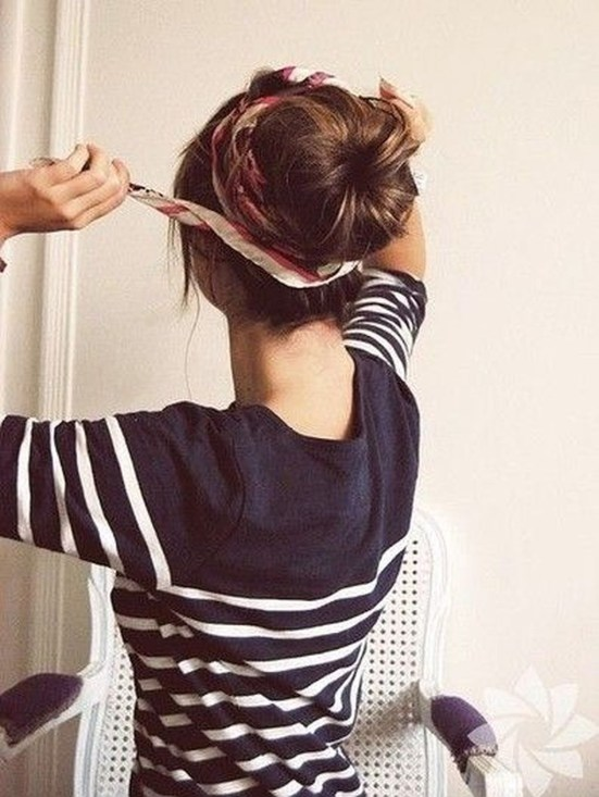 Wonderful Ways Wear Bun Fall Ideas48