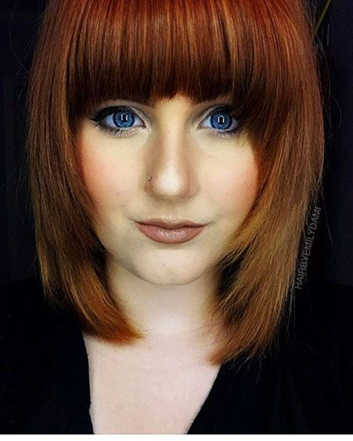 Awesome Haircuts Ideas For Round Face36