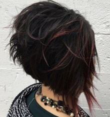 Cute Layered Bob Hairstyles Ideas25