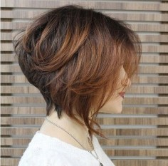 Cute Layered Bob Hairstyles Ideas26