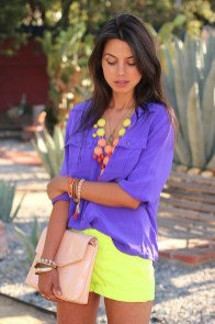 Fabulous Purple Outfit Ideas For Summer14
