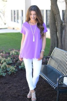Fabulous Purple Outfit Ideas For Summer21