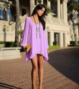 Fabulous Purple Outfit Ideas For Summer32