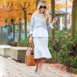 Fancy Winter Outfits Ideas Jean Skirts03