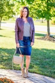 Fancy Winter Outfits Ideas Jean Skirts23