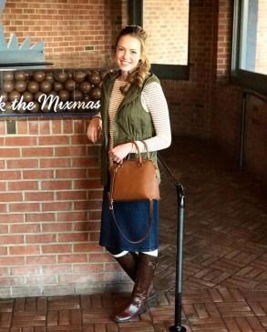 Fancy Winter Outfits Ideas Jean Skirts25