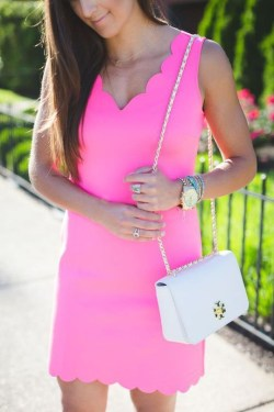 Fascinating Scalloped Clothing Ideas For Summer Outfits07