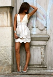 Fascinating Scalloped Clothing Ideas For Summer Outfits22