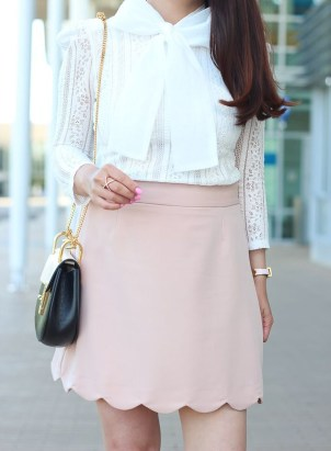 Fascinating Scalloped Clothing Ideas For Summer Outfits27