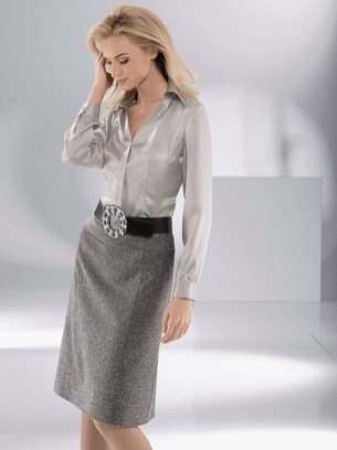 Incredible Skirt And Blouse This Fall Ideas24