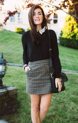 Incredible Skirt And Blouse This Fall Ideas35
