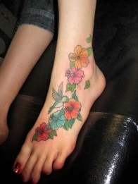 Lovely Foot Tattoo Ideas For Girls08