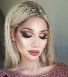 Popular Shimmer Summer Makeup Ideas30