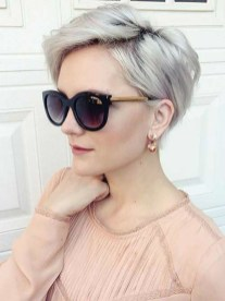 Pretty Grey Hairstyle Ideas For Women13