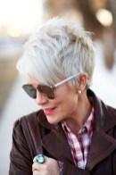 Pretty Grey Hairstyle Ideas For Women16