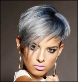 Pretty Grey Hairstyle Ideas For Women20