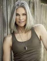 Pretty Grey Hairstyle Ideas For Women43