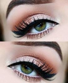 Stunning Shimmer Eye Makeup Ideas 201812
