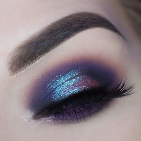 Stunning Shimmer Eye Makeup Ideas 201837