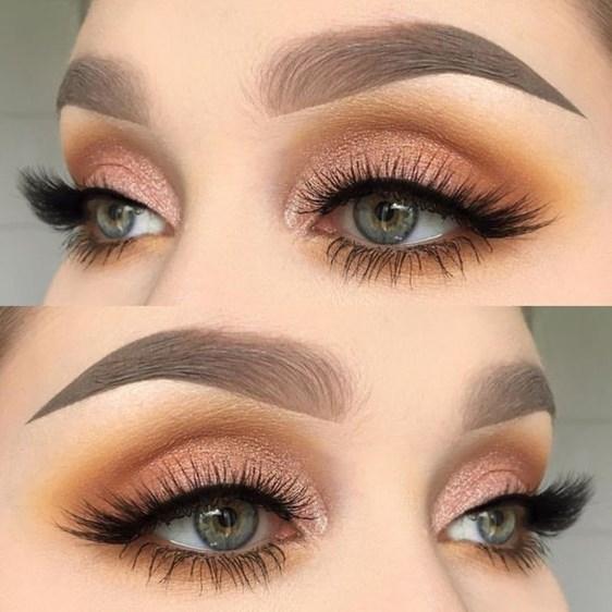 Stunning Shimmer Eye Makeup Ideas 201840