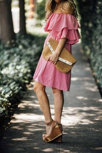 Stunning Spring Outfit Ideas With Wedges10