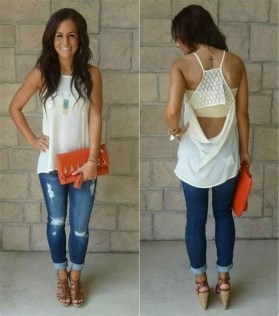 Stunning Spring Outfit Ideas With Wedges11