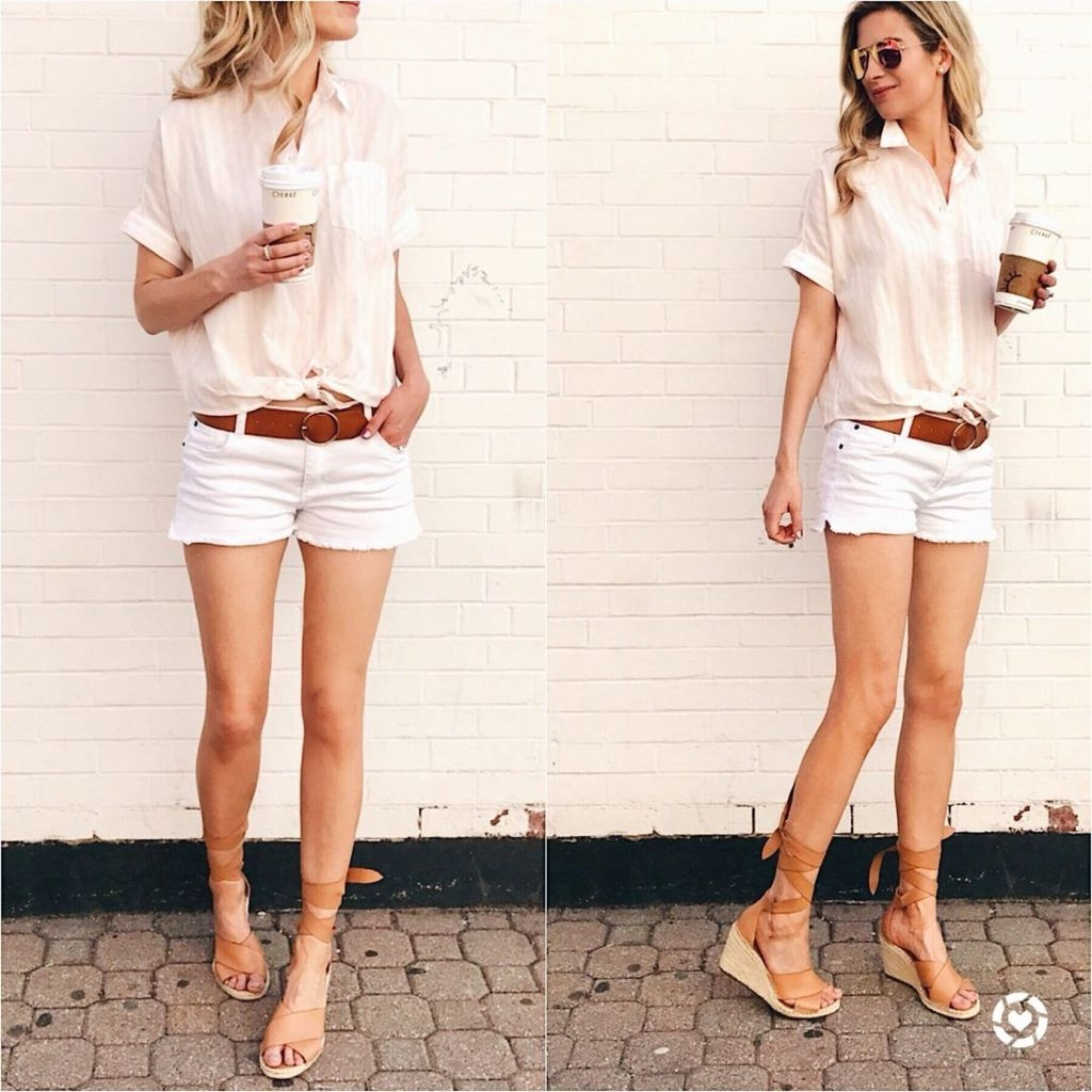 Stunning Spring Outfit Ideas With Wedges34