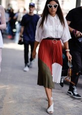 Wonderful Midi Skirt Outfit Ideas For Spring And Summer 201823